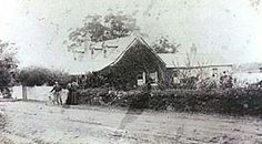 40 Punt Rd,Gladesville.Members of the Barton Family outside Rockend Cottage,around 1890.