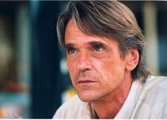 Jeremy Irons ... That voice of his gets me everytime :) ( I miss it on Spaceship Earth )