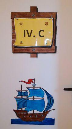Námořníci - cedule na dveřích; Sailor, Classroom, Home Decor, Class Room, Decoration Home, Room Decor, Home Interior Design, Home Decoration, Interior Design
