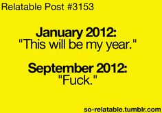 Every....year!