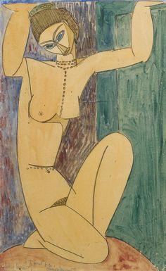Modigliani - Cariatide