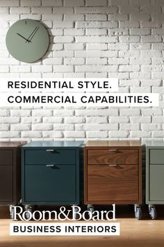 Room & Board Business Interiors is a full-service solution for businesses and design/build industry professionals. Home Office Design, Home Office Decor, Home Decor, Modern Home Offices, Brewery Design, Showroom Interior Design, Mod Furniture, Room Additions, Commercial Interiors