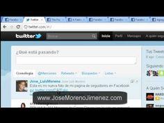 http://JoseMorenoJimenez.com Como agregar imágenes en Twitter