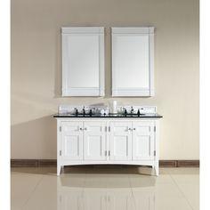 North Hampton 60-inch Double Vanity - Overstock Shopping - Great Deals on Bathroom Vanities