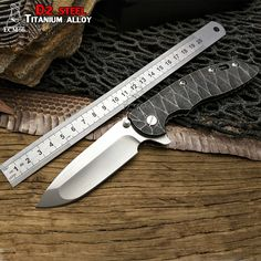 """74.84$  Watch now - http://alieps.shopchina.info/go.php?t=32806072674 - """"LCM66 WILD BOAR""""""""HINDERER""""""""XM-18 Custom made S35VN Blade Titanium Alloy Handle Folding Knife Outdoor camping hunting Knives tool""""  #buymethat"""