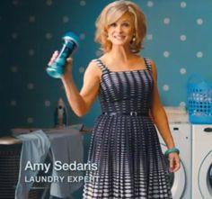 I Love Amy Sedaris' Downy commercial dresses.