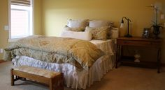 Willow Wisp Cottage: New Bedding for our Master