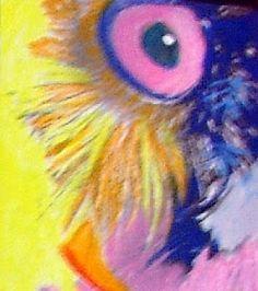 Line Frøslev: Pop art på den nemme måde Pop Art, Robert Rauschenberg, Roy Lichtenstein, Andy Warhol, Owl, Bird, Animals, February, Abstract