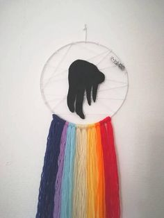 ~ handmade ~ Dream catcher in the last album of the band Imagine Dragons Evolve colors Everything is done by hand. Length of about 50 cm Imagine Dragons, Ap Art, Art Journals, Cool Bands, Dream Catcher, Art Projects, Alternative, Creations, Daughter