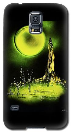 Land Of Rituals Galaxy S5 Case Printed with Fine Art spray painting image Land Of Rituals by Nandor Molnar (When you visit the Shop, change the orientation, background color and image size as you wish)