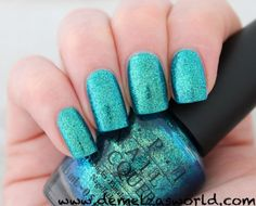 OPI - Catch Me In Your Net vs. Orly - Halley's Comet - Demelza's World