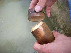 竹制有蓋水杯之二