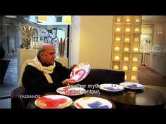 Collection Bernardaud 150 ans : Interview de Fassianos - YouTube