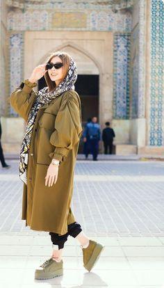 Hijab styles 💕¸. Modest Fashion Hijab, Modern Hijab Fashion, Street Hijab Fashion, Hijab Fashion Inspiration, Abaya Fashion, Muslim Fashion, Kimono Fashion, Fashion Dresses, Fashion Boots