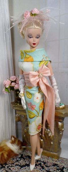 Made Me Blush for Silkstone Barbie and Victoire Roux on Etsy now