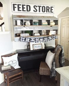 Laughing because when I got the chicken nest off CL I told the hubby I wouldn't be filling allll the boxes. Well that idea came and went. Chicken Nesting Boxes, Chicken Boxes, Rustic Farmhouse Decor, Farmhouse Style, Farmhouse Ideas, Rustic Barn, Modern Farmhouse, Palette, Living Room Decor