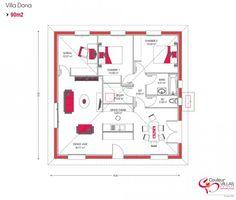 plan sympa pour la 117m - Plan Maison Plain Pied 70m2