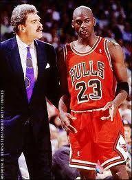 Phil Jackson & Michael Jordan - Legends of Sport from any era
