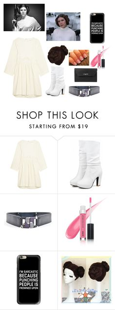 """""""Modern ANH Princess Leia"""" by carinarobb ❤ liked on Polyvore featuring Chloé, Lela Rose, Casetify, Lancaster, modern, princess, starwars and princessleia"""