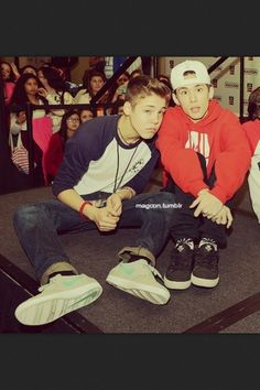 Matt Espinosa and carter reynolds #matter or #reynosa (Matt and carter)