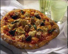 Unser beliebtes Rezept für Mediterrane Pizza und mehr als 55.000 weitere kostenlose Rezepte auf LECKER.de.
