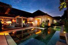 Nirwana Residence - tropical - pool - Seriously Designed