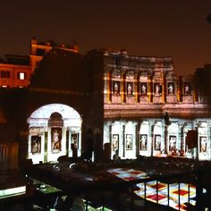 Through the end of October, catch the nightly spectacular light show on the via dei Fori Imperiali, showcasing the life and times of Rome's first Empreror, Augustus.