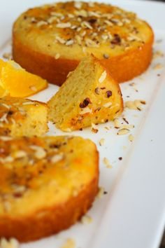 {Gluten-Free} Orange and Grapefruit Cake! Healthy and Delicious!