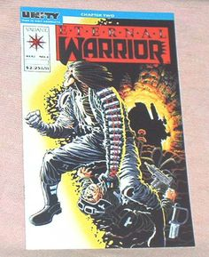 ETERNAL WARRIOR, #1, August, 1992, Valiant Comics,UNITY Crossover Chapter 2, Jim Shooter/John Dixon, Miller Cover, Fn.+/Vf.. by brotoys1 on Etsy