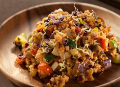 8 Incredible Ways to Cook With Millet. Vegan recipes included. Pictured: Mediterranean Spartan Strength Millet.