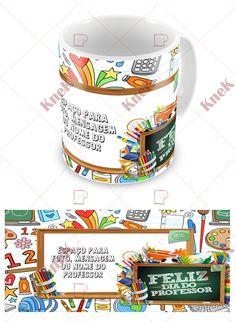 Para orçamentos e encomendas de Canecas Para o Dia do Professor, enve e-mail para knek@knek.com.br