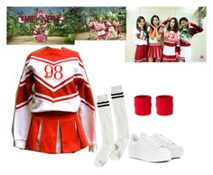 """""""Red Velvet - Happiness"""" by marissa-malik ❤ liked on Polyvore featuring Noisy May and Kenzo"""