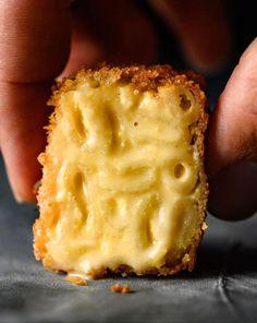 Vegan Macaroni and Cheese Bites