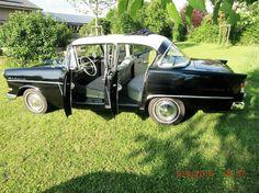 OPEL Rekord P 1, 2-farbig, 4-türig, Faltschiebedach in Auto & Motorrad: Fahrzeuge, Automobile, Oldtimer   eBay