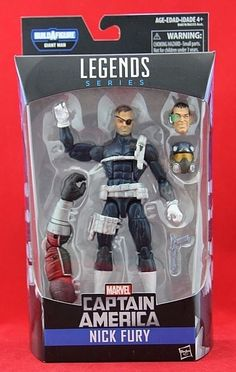 "Nick Fury Marvel Legends 6"" Action Figure BAF Giant Man Free Shipping NIB #Hasbro"