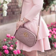 Girly Outfits, Office Outfits, Gucci Marmont Bag, Have A Lovely Weekend, Lace Outfit, Office Fashion, Classy Dress, Pretty In Pink, My Style
