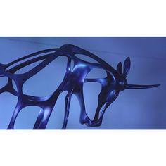 Unicorna by #richardtexier #blueisthewarmestcolor