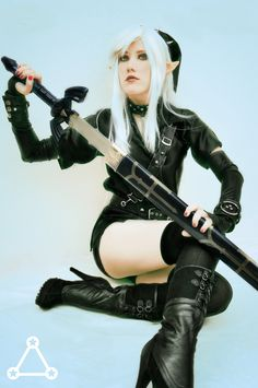+Dark Link GenderBender+ by MolecularAgatha Check out http://hotcosplaychicks.tumblr.com for more awesome cosplay