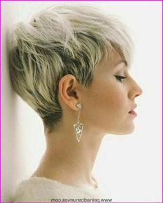 Short Blonde Pixie Cut, Short Pixie Haircuts, Cute Hairstyles For Short Hair, Short Hair Cuts, Short Hair Styles, Blonde Pixie Haircut, Undercut Hairstyles, Hairstyles Haircuts, Hair Color 2018