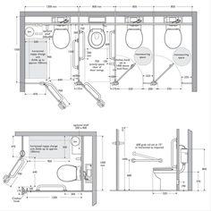 toilet cubicle sizes - Google Search