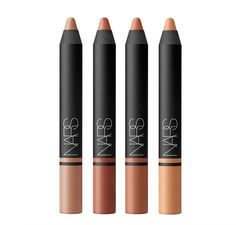 NARS the satin lip pencils // nudes collection