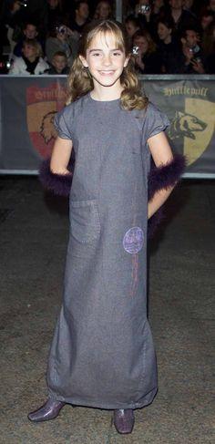 Emma Watson, 2001.