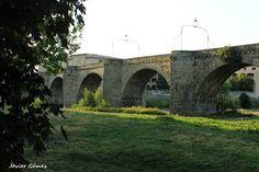 Tramo del famoso Puente de Carcassonne.