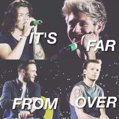 """#5YearsOfOneDirection<< everyone is like """"soon it will all be over"""" but have you guys seen how happy they are it's just the beginning. ( :"""