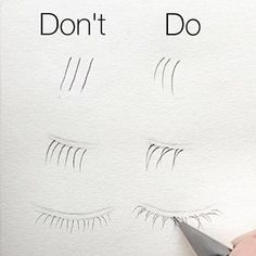 Face Drawing Photo - How to (correctly) Draw -> Eyelashes (Human Anatomy) ~ Cool Art Drawings, Pencil Art Drawings, Art Drawings Sketches, Realistic Drawings, Easy Drawings, Art Sketches, Realistic Eye, Drawings Of Eyes, Art Illustrations