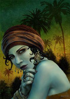Vamipre Gipsy by dlazaru.deviantart.com on @deviantART