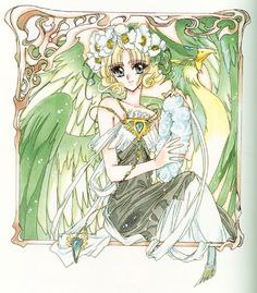 Magic Knight Rayearth. Clamp
