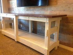 My favorite TV console ever! | Do It Yourself Home Projects from Ana White