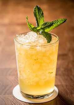 monte mule- 1 oz. vodka 1 oz. Amaro Montenegro 1 oz. ginger beer ½ oz. fresh lime juice Tools: barspoon Glass: rocks Garish: mint sprig  Add the ingredients to a rocks glass, then add crushed ice. Stir to chill. Garnish.