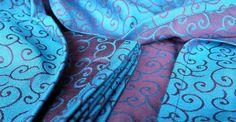 Karakusa Aozora size 6 by Artipoppe on Etsy Baby Wearing, Alexander Mcqueen Scarf, Wraps, Etsy, Fashion, Moda, Fashion Styles, Fashion Illustrations, Rolls